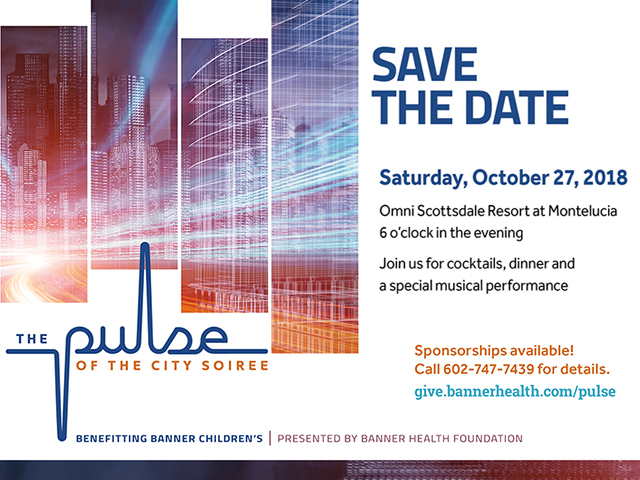 The Pulse of the City Soiree SAVE THE DATE